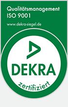 Elektro Kärcher Dekra Siegel ISO 9001 Schaltschrankbau
