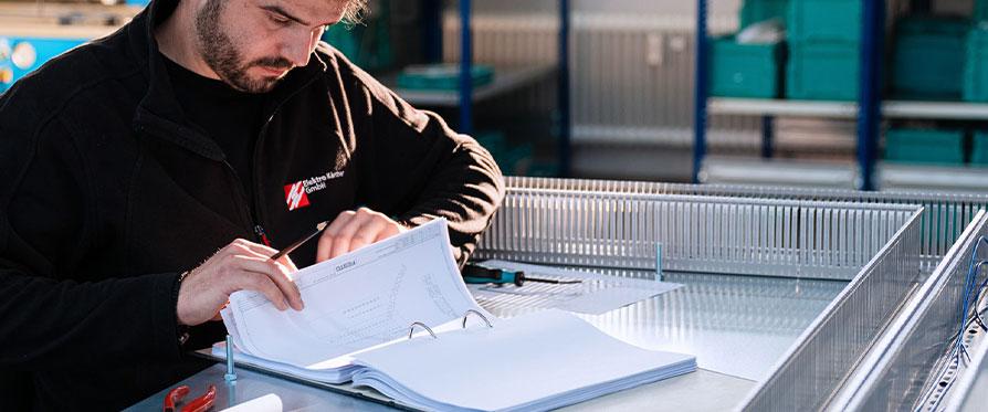 Elektro Kärcher Schaltschrankbau Automatisierungstechnik Planung Konstruktion